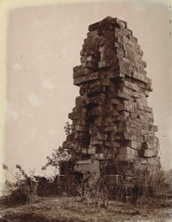 Ruins of an old stone temple, Katras, Manbhum District